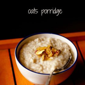 oats porridge recipe, quick oats porridge recipe