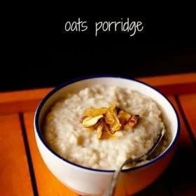 oats porridge recipe, quick oats porridge recipe