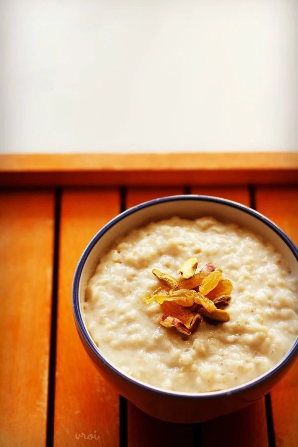 oats porridge recipe, how to make oats porridge