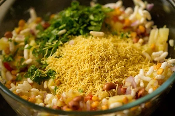 sev for raw mango chaat recipe