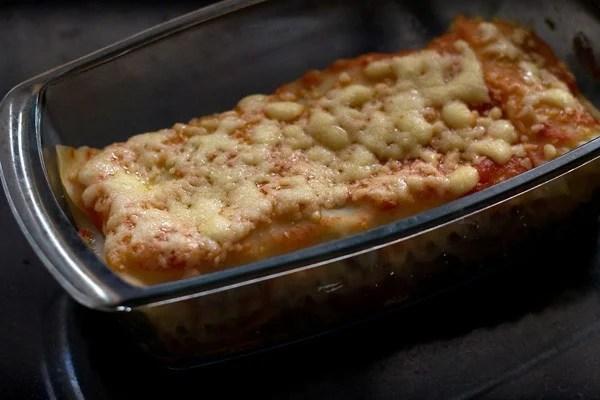 baking spinach mushroom lasagna recipe