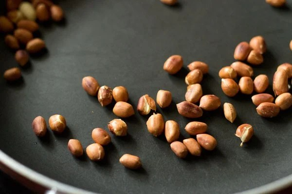 peanuts for bharli bhendi recipe