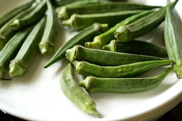 bhindi for bharli bhendi recipe