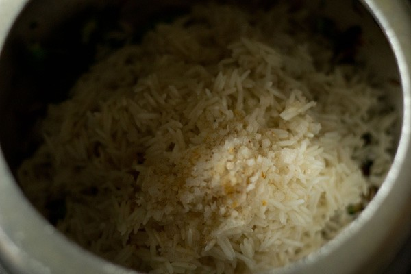 rice for capsicum rice recipe