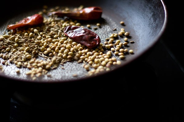 spices for sambar recipe