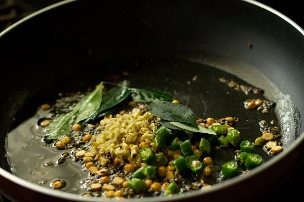 ginger for poori masala recipe