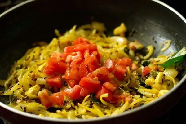 tomatoes for potato masala recipe