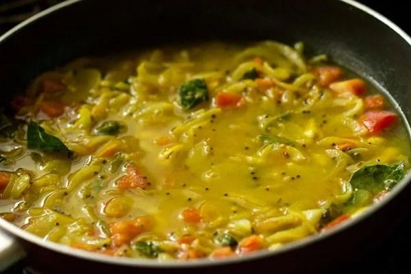 making potato masala recipe