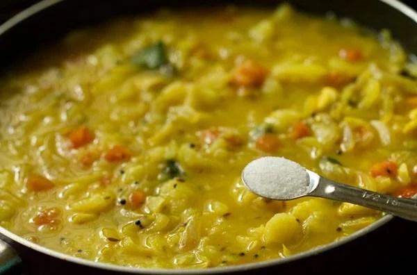 salt for potato masala recipe