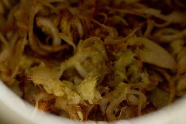 ginger for aloo korma recipe