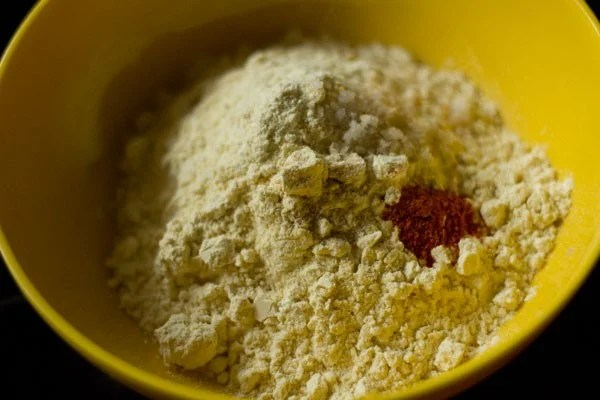 besan for mirchi vada recipe