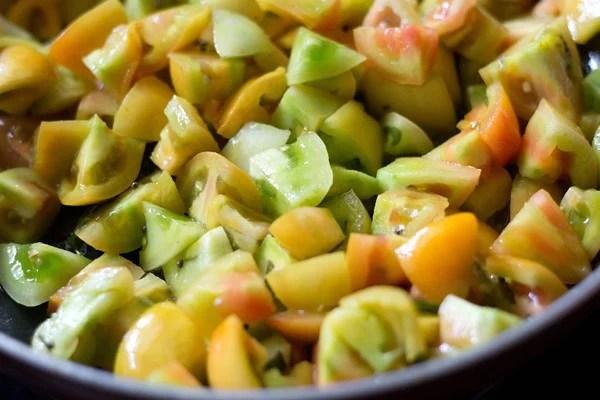 tomatoes for tomato bhaji recipe
