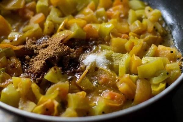jaggery for tomato bhaji recipe