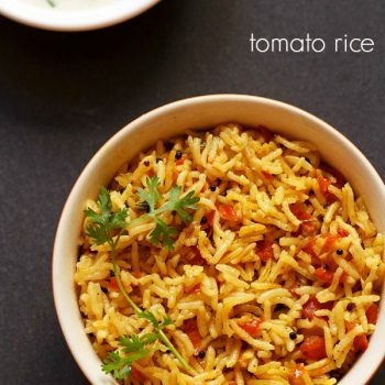 South Indian Tomato Rice (Quick, One Pot)