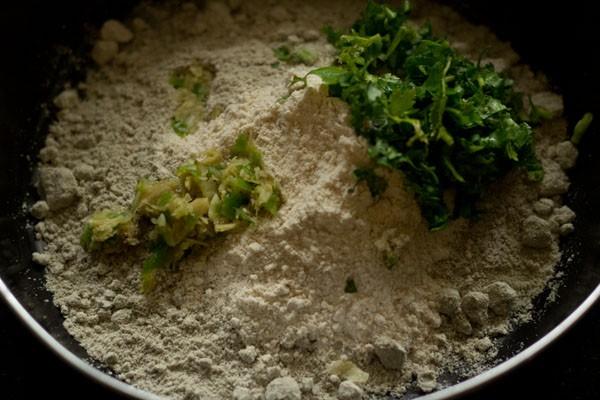 ginger for bajra vada recipe