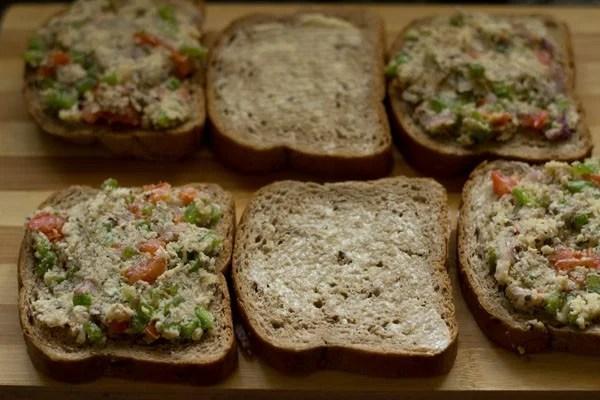 filling for capsicum toast sandwich recipe