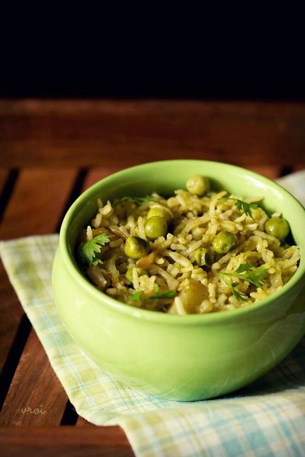 coriander rice, cilantro rice