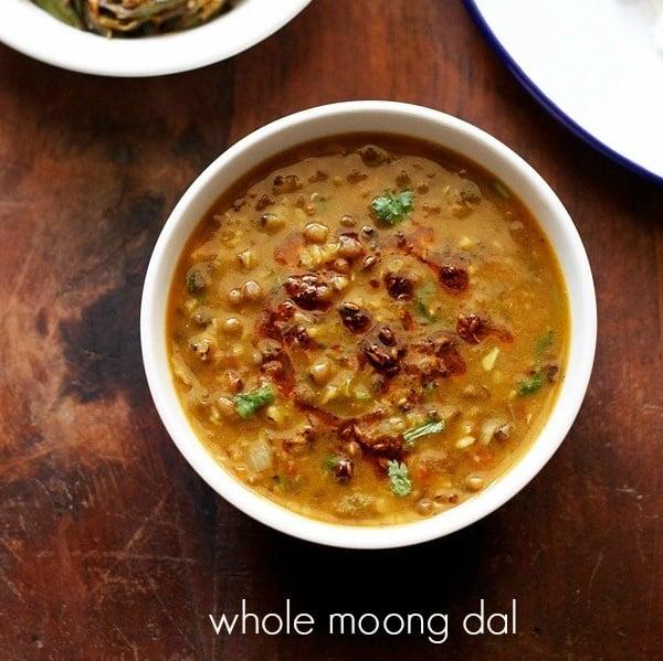 Green Moong Dal Green Gram Curry Sabut Moong Ki Dal