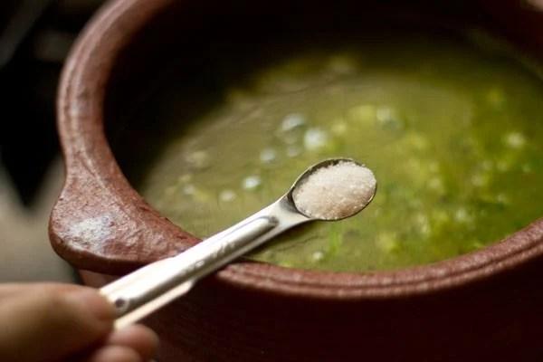 salt for lemon rasam recipe