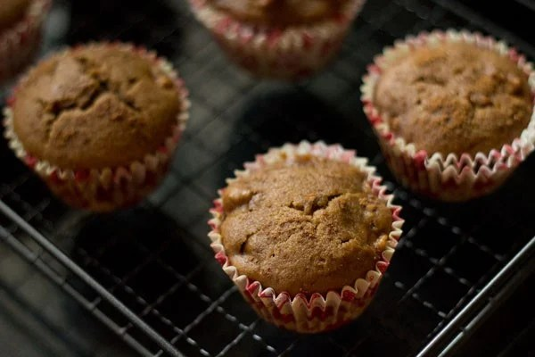 eggless apple muffins recipe
