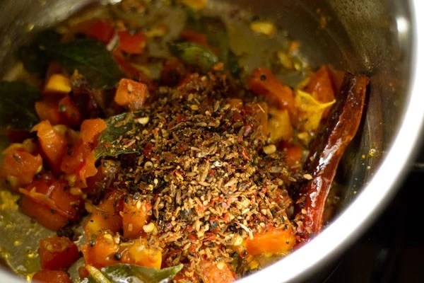 add rasam spice mix