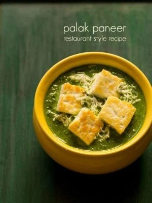one pot palak paneer