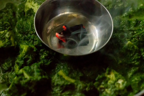 dhungar for one pot palak paneer