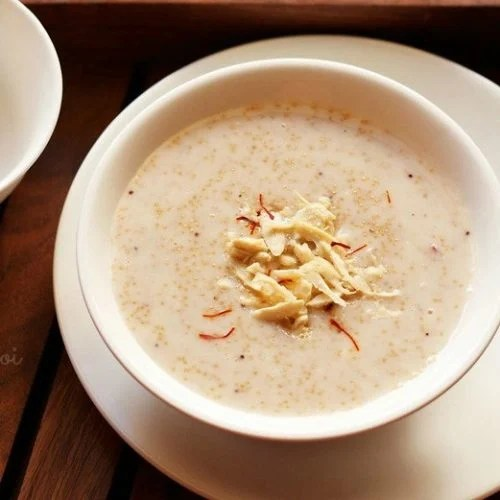 rajgira kheer recipe, amaranth kheer recipe
