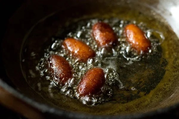 frying kala jamun recipe