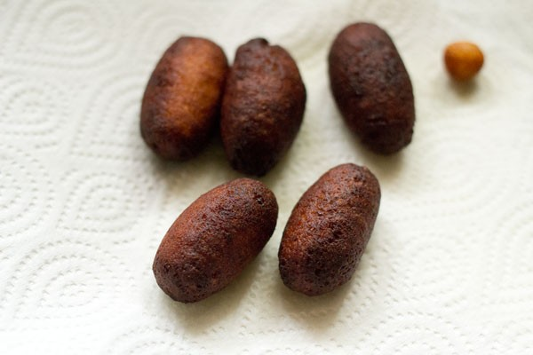 fried kala jamun recipe