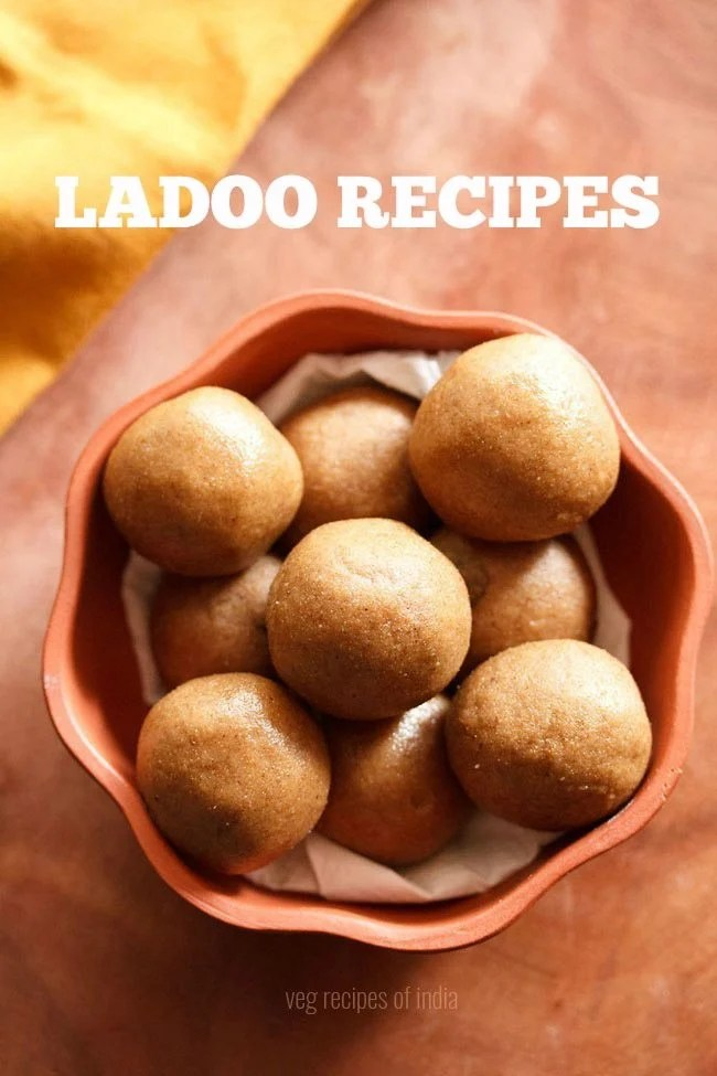 ladoo recipes, laddu recipes