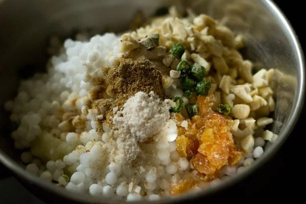 spices for sabudana tikki recipe