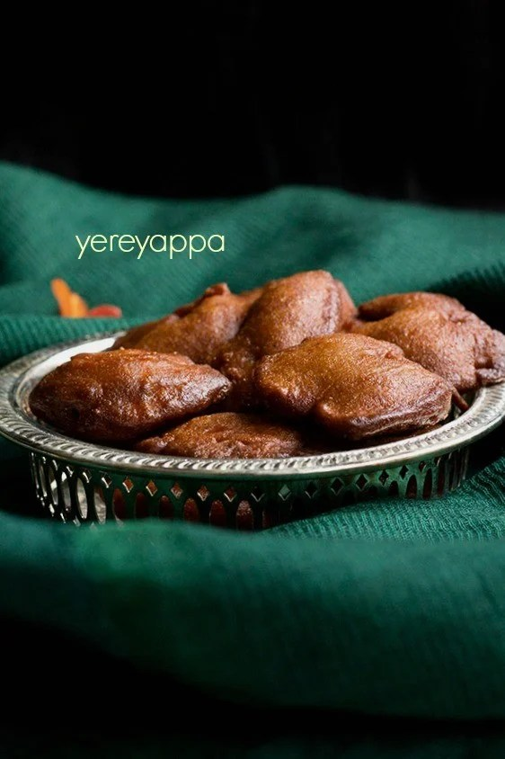 yereyappa recipe sweet appam recipe karnataka rice appam recipe