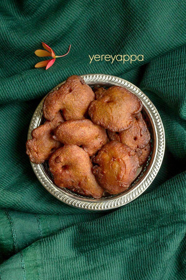 yereyappa recipe, sweet appam recipe, Karnataka rice appam recipe