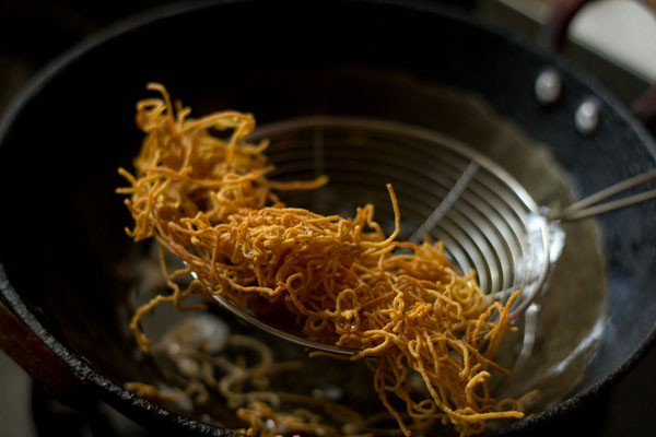 frying potato sev
