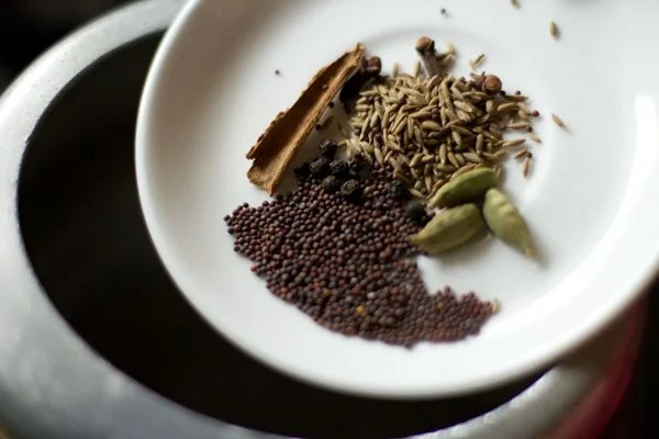 spices for beetroot rice