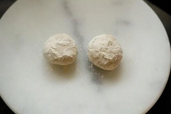 dough for cabbage paratha recipe