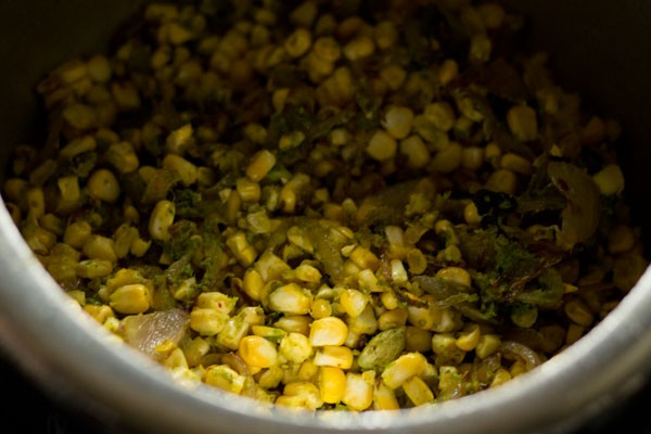 mix corn pulao mixture