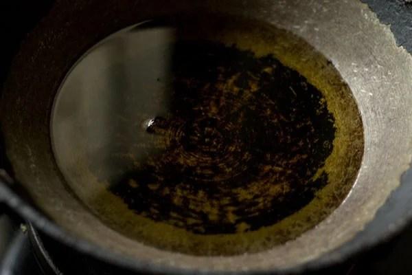 oil for dry gulab jamun recipe