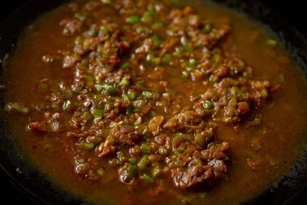 water for masala pav recipe