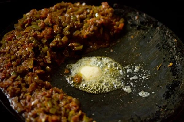butter for Mumbai masala pav recipe