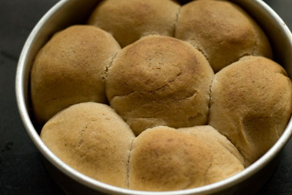 pressure cooker cooked pav