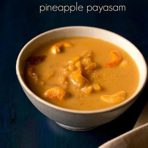 pineapple payasam recipe