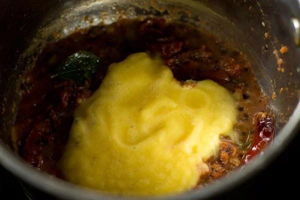dal for pineapple rasam recipe