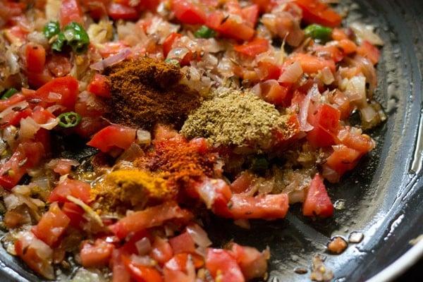 spices for patta gobhi recipe