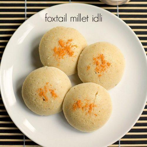 foxtail millet idli recipe, thinai idli recipe