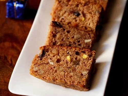 eggless fruit cake recipe recipe