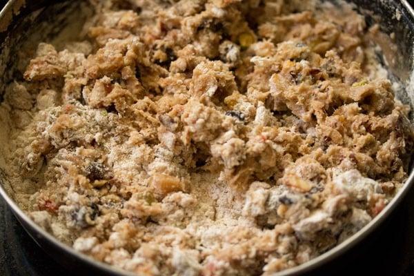 making eggless kerala style fruit cake recipe