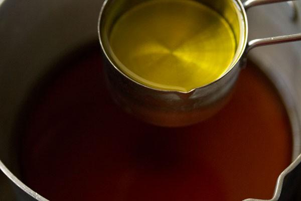 making eggless Kerala style christmas fruit cake