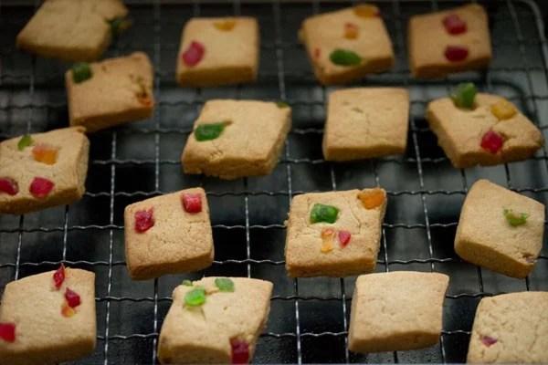 eggless tutti frutti cookies recipe